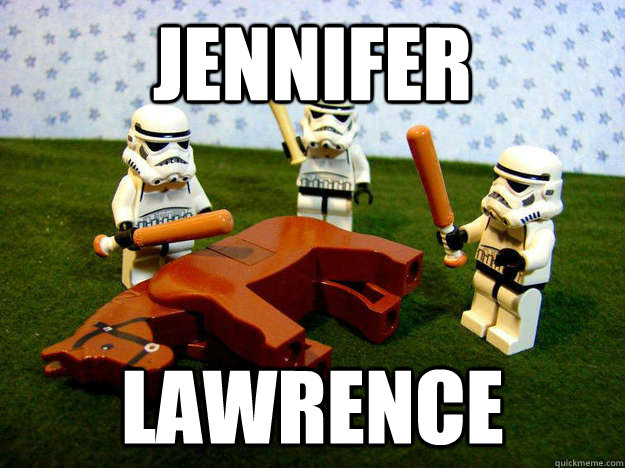 jennifer lawrence - karma horse