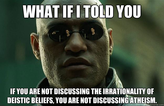 what if i told you if you are not discussing the irrationali - Hi-Res Morpheus