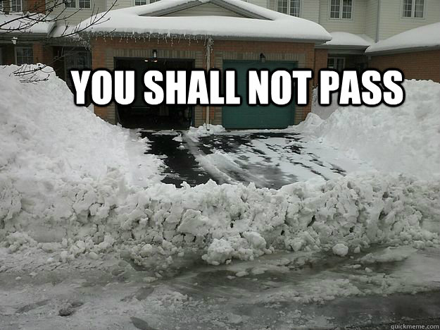 you shall not pass - You shall not pass - Canadian edition