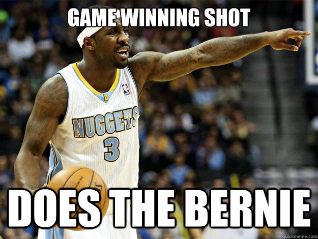 game winning shot does the bernie -