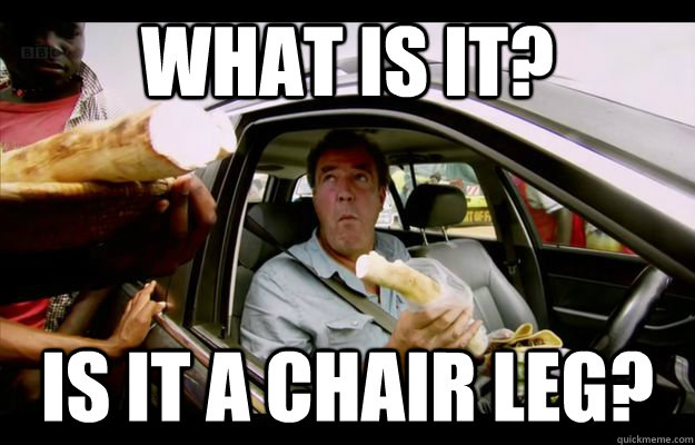 what is it is it a chair leg - 