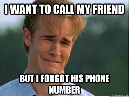 how to find my friend phone number