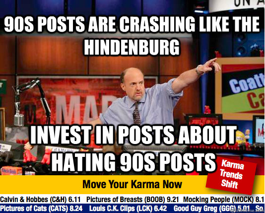 90s posts are crashing like the hindenburg invest in posts a - Mad Karma with Jim Cramer