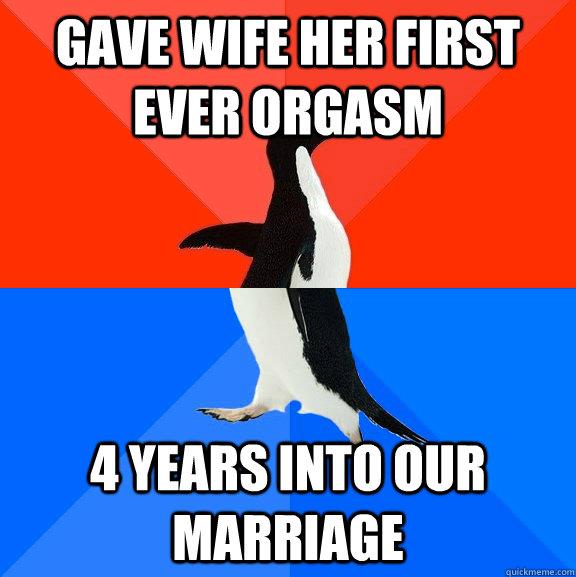orgasm meme
