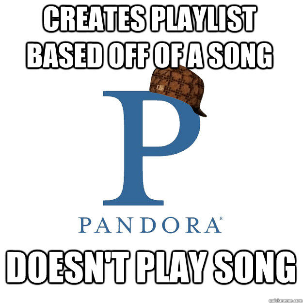 creates playlist based off of a song doesnt play song - 