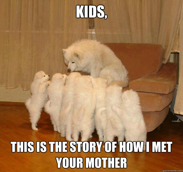 kids this is the story of how i met your mother -