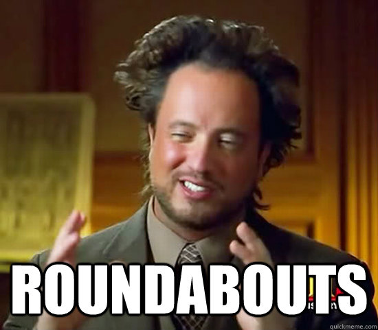 roundabouts - Ancient Aliens