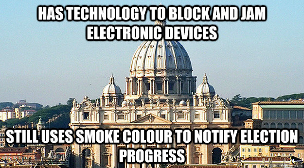 has technology to block and jam electronic devices still use -