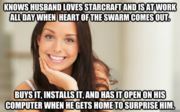 knows husband loves starcraft and is at work all day when h - Good Girl Gina