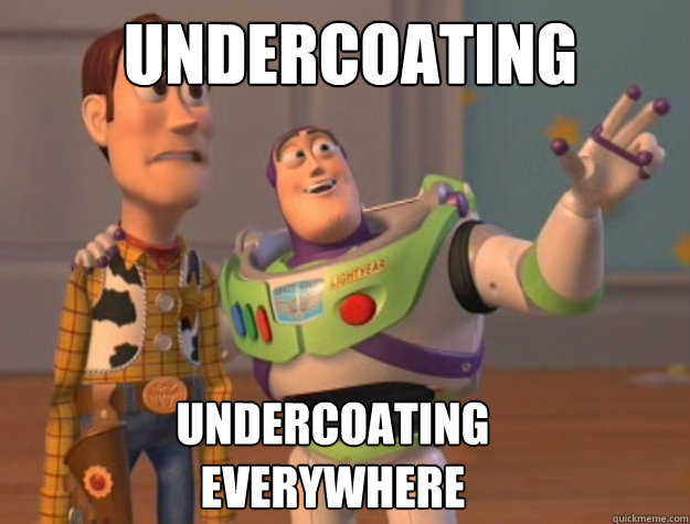 undercoating undercoating everywhere - toystory everywhere