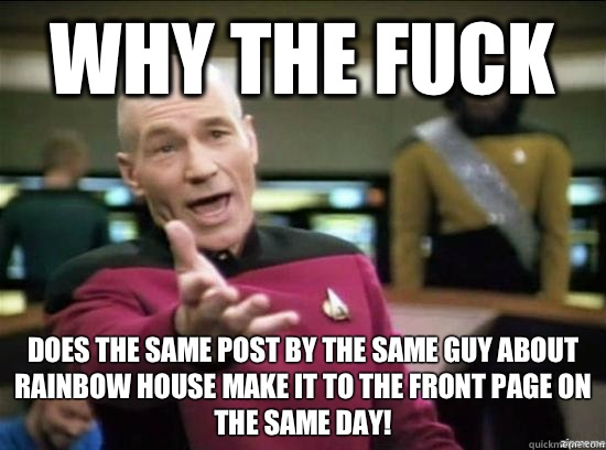 Why the fuck is increased thoughts of suicide a side effect  - Annoyed Picard HD