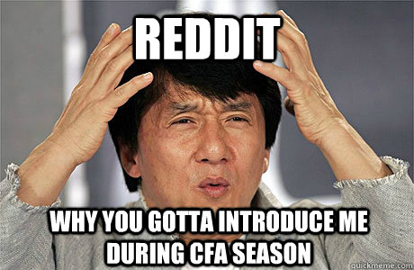 First Post Couldnt Have Happened At A More Inopportune Time Cfa
