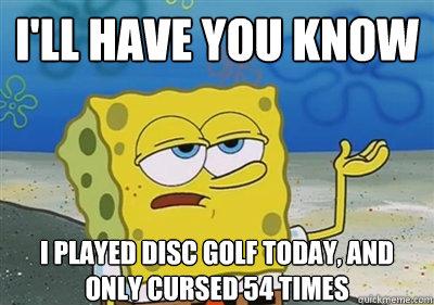 3tx93e disc golf meme images reverse search,Funny Disc Golf Memes