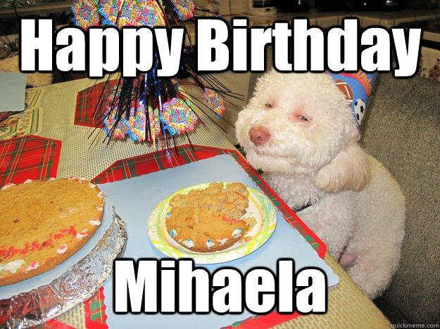 Stoned birthday dog - photo#3