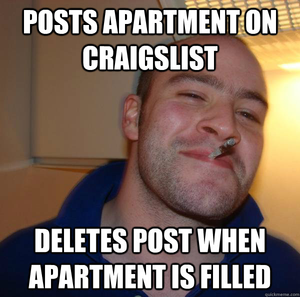 Craigs List Apartment: Posts Apartment On Craigslist Deletes Post When Apartment