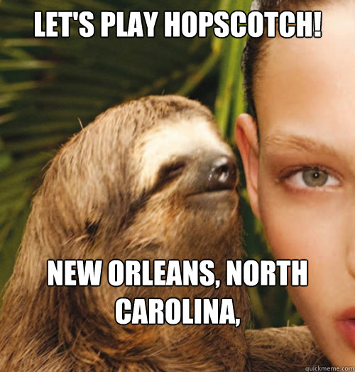 Creepy sloth whisper - photo#29