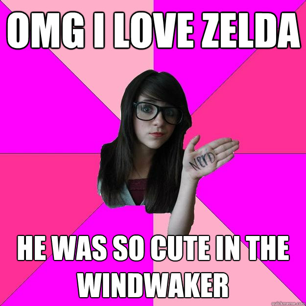 omg i love zelda he was so cute in the windwaker - Idiot Nerd Girl