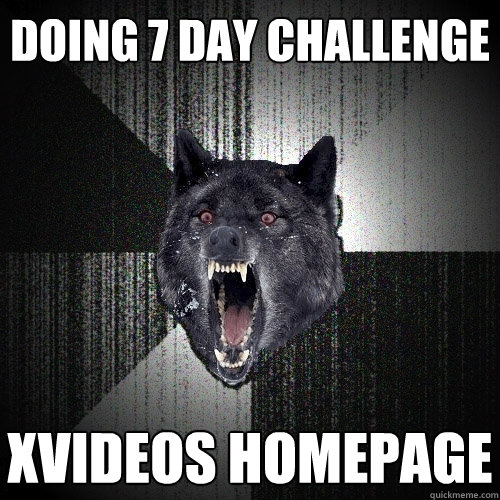 doing 7 day challenge xvideos homepage - Insanity Wolf