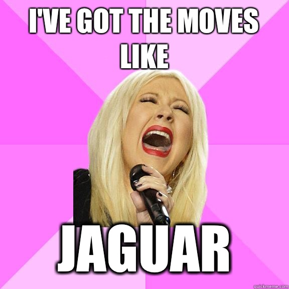Ive got the moves like Jaguar - Wrong Lyrics Christina
