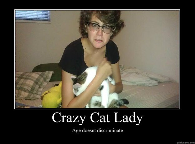 dating website cat lady