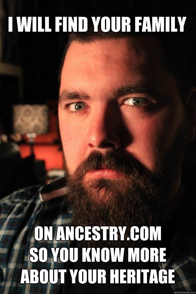 i will find your family on ancestrycom so you know more ab - Dating Site Murderer