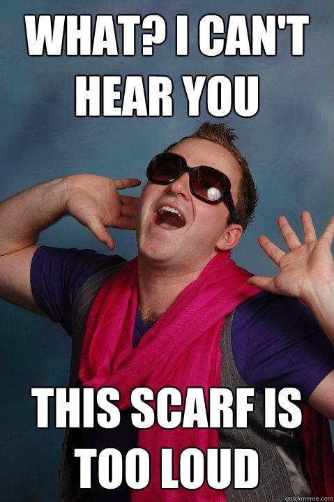 Man Knitting Meme : Guys scarf memes