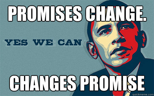 obama promises