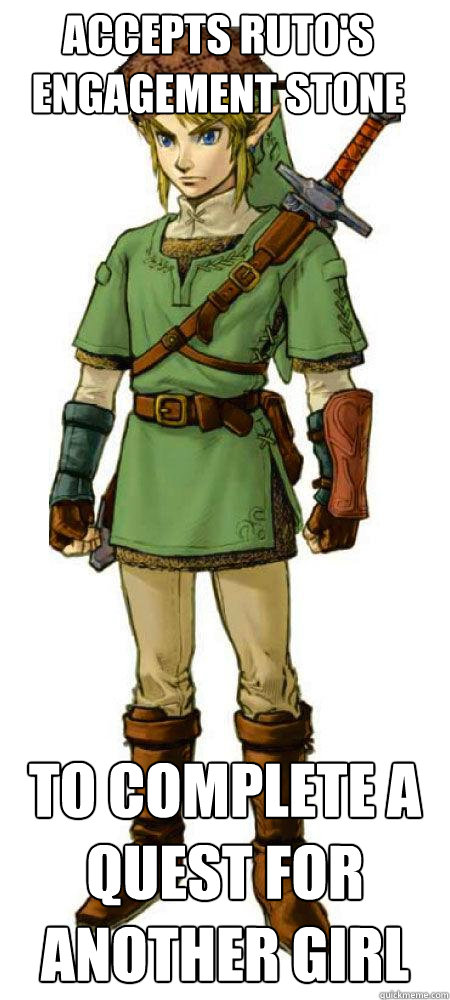 accepts rutos engagement stone to complete a quest for anot - Scumbag Link