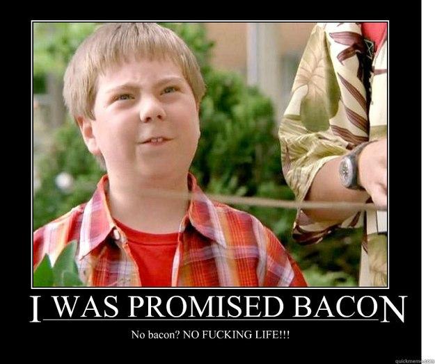 no bacon