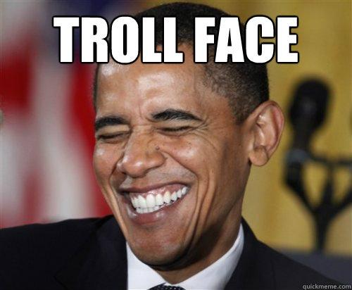 obama the troll