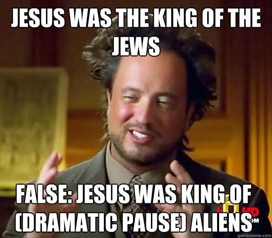 ancient aliens Jesus father