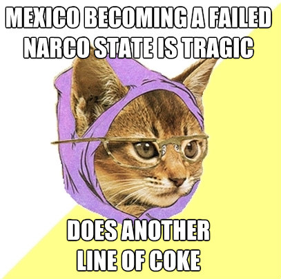 mexico becoming a failed narco state is tragic does another  - Hipster Kitty
