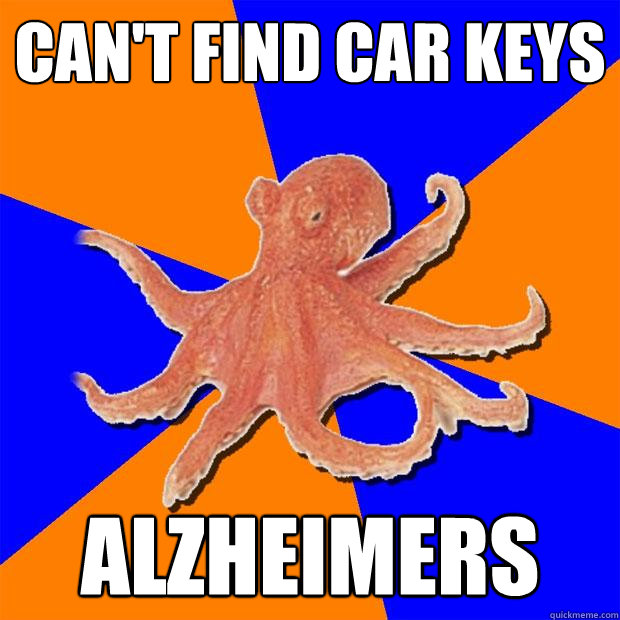 cant find car keys alzheimers - Online Diagnosis Octopus