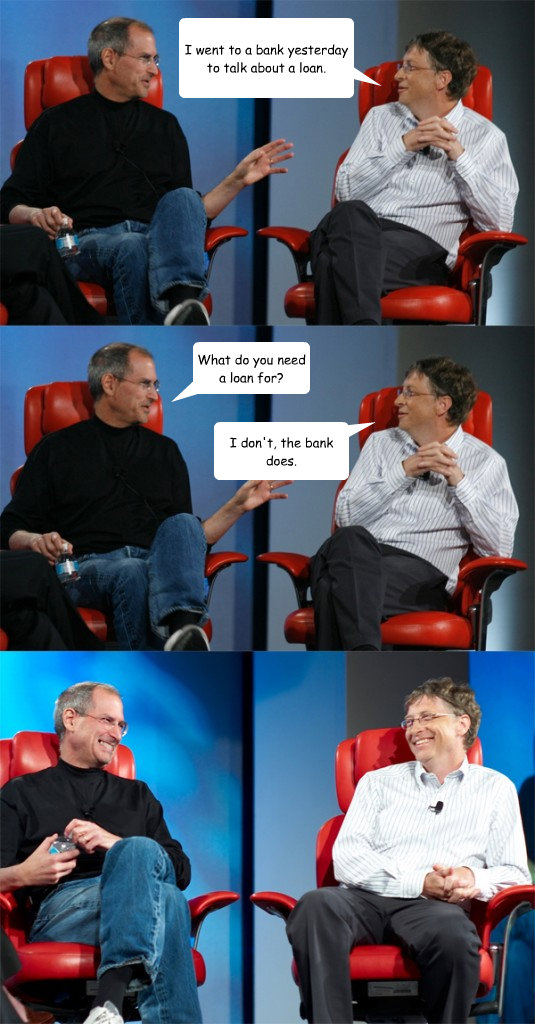 steve jobs bill gates meme. Steve Jobs vs Bill Gates
