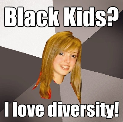 black kids i love diversity - Musically Oblivious 8th Grader