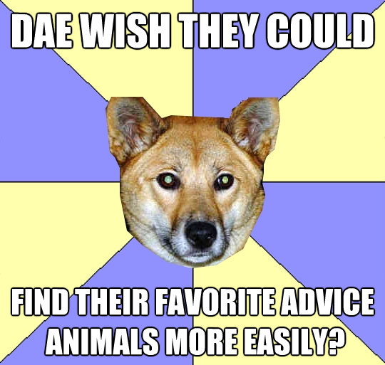 dae wish they could find their favorite advice animals more - DAE Dingo