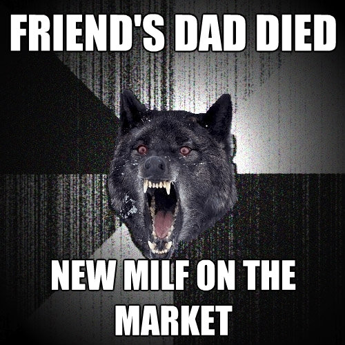 friends dad died new milf on the market - Insanity Wolf