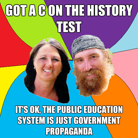 got a c on the history test its ok the public education sy - Overly Permissive Hippie Parents