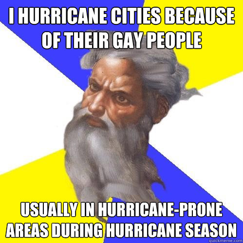 i hurricane cities because of their gay people usually in hu - Advice God