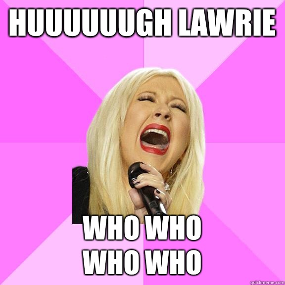 Huuuuuugh lawrie Who who Who who - Wrong Lyrics Christina